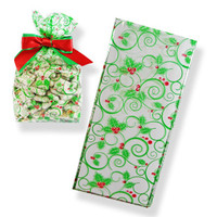 Holly Swirl Bags
