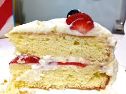 A delicious moist double layer yellow cake filled with whip cream frosting, vanilla bavarian cream and strawberry filling.  The strawberry filling is made with fresh sliced strawberries not frozen making this an Italian favorite dessert for all recipients! This is our specialty cake leaving you wanting to eat every piece!