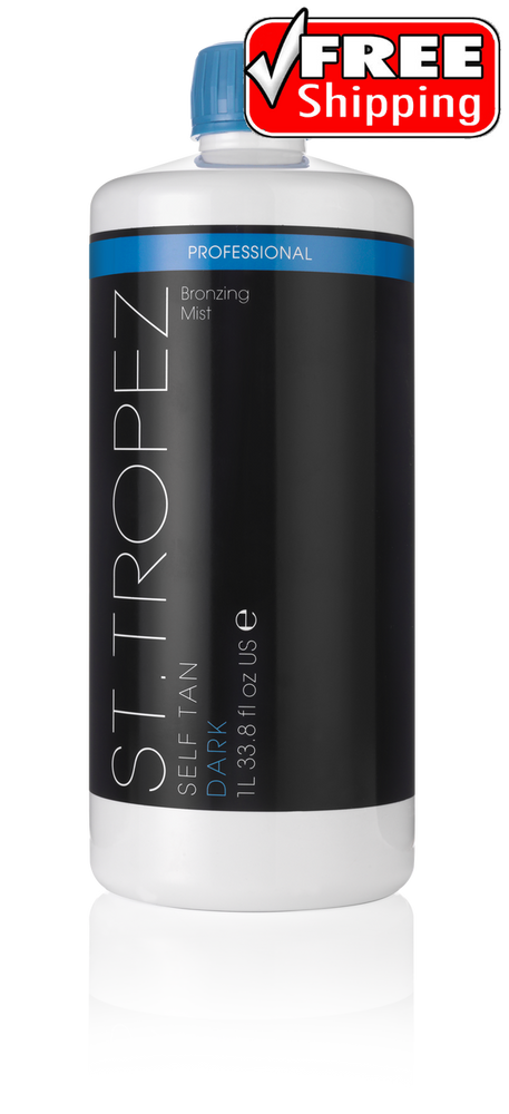 St Tropez DARK Bronzing Mist Spray Tanning Solution 33.8