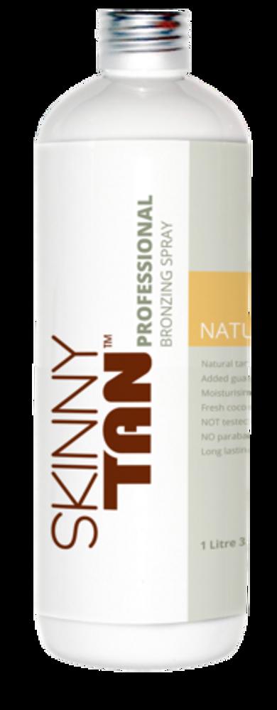 Skinny Tan Professional Bronzing Spray - Natural Tan