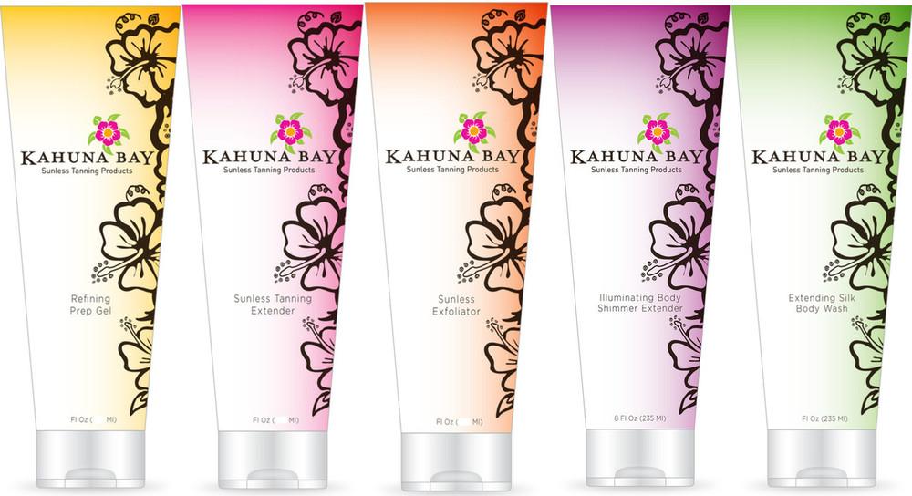 Kahuna Bay Tan Pre & Post Sunless Tanning Maintenance Kit