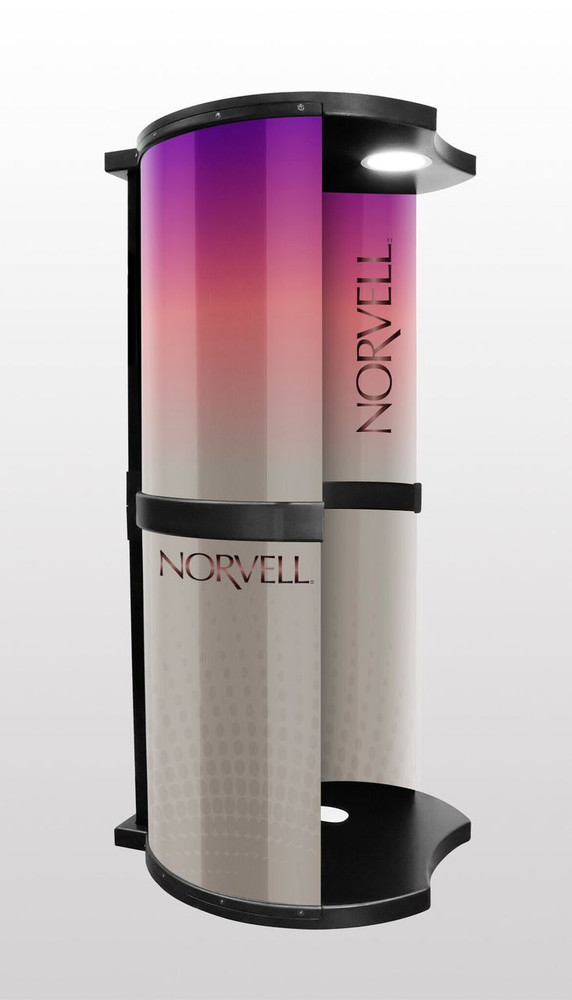 Norvell Podium Professional Overspray Extraction Booth