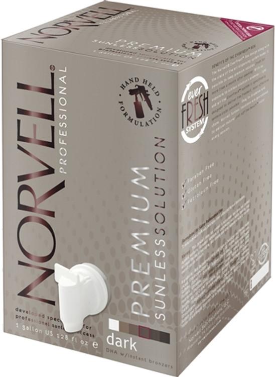 Norvell Amber Sun CLEAR Premium Airbrush Solution 1 Gallon