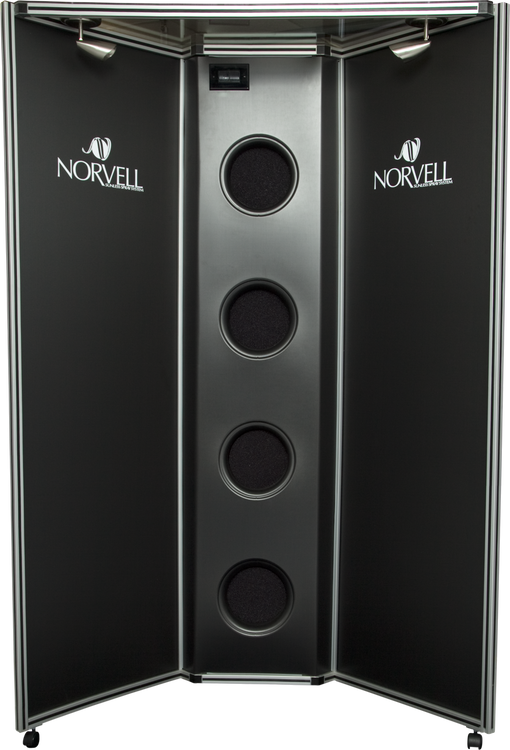 Norvell 4-Fan Sunless Tanning Over spray Booth
