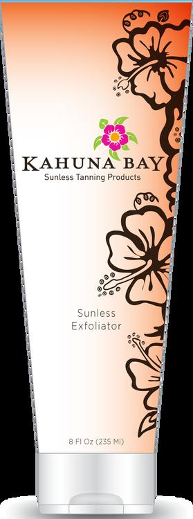 Sunless Exfoliator 8oz by Kahuna Bay Tan