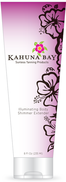 Illuminating Body Shimmer Extender 2oz by Kahuna Bay Tan