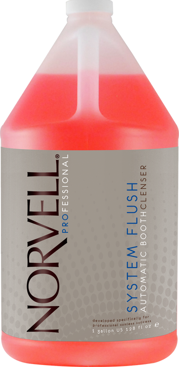 Norvell System Flush Booth Cleanser, 128 oz Gallon