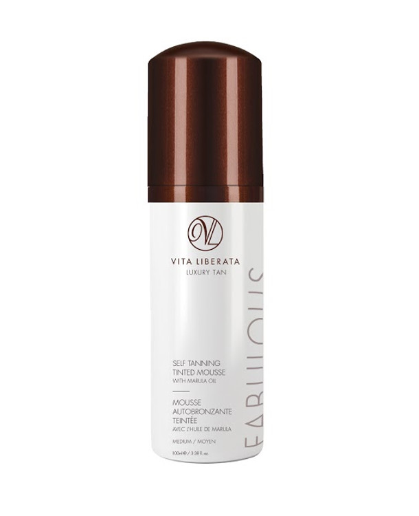 Vita Liberata Fabulous Self Tanning Tinted Mousse Medium, 3.38 oz