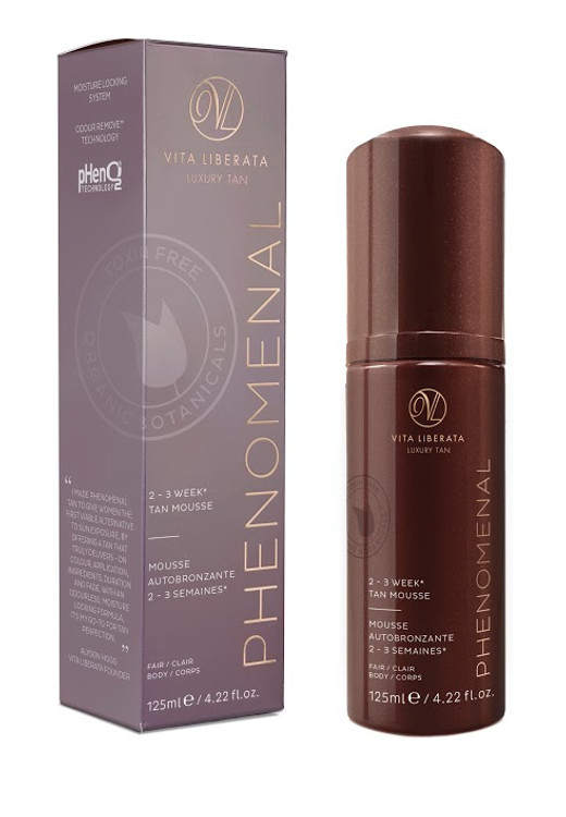 Vita Liberata pHenomenal 2-3 Week Tan Mousse, Fair 4.2 oz