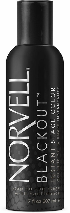 Norvell Black Out Competition DHA Free Stage Color Spray, 6 oz