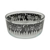 Pyrex 7201 4 Cup Black Owl Glass Bowl w/ 7201-PC Green Lid (2-Pack)