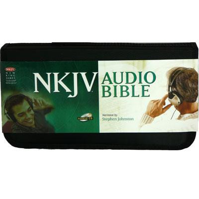 Front view - NKJV Audio Bible Complete on CD by Stephen Johnston, voice only