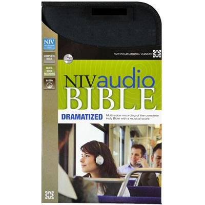 Front view - NIV Audio Bible on CD, Dramatized version, Audio Bible NIV on 64 CDs