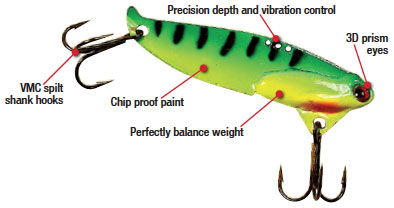 specifications and features for our B3 Blade Bait