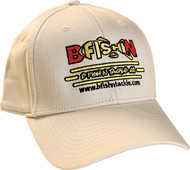 B-Fish-N Tackle New Era Wool Structured Ball Cap Khaki