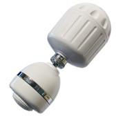 Sprite HO2-WH-M High Output Shower Filter w/Massage Head (White)