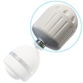 Sprite HO2-WH High Output Shower Filter w/o Massage Head (White)