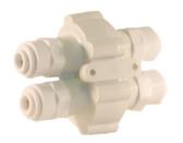"Hydronamic Permeate Pump Automatic Shut Off Valve 1/4"" Quick Connect (ASV-ERP-JG)"