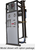 ROS/ECFMV-1S Economy Frame Mount Reverse Osmosis System 2,800 GPD Low Energy 120/60