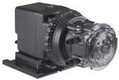 "Stenner Adjustable Single Head Pump 0.2- 3 GPD 100 PSI  Tube # 1 S & D Tubing 1/4"" White (45MJH1A1S)"