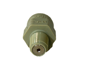 """Hydronamic SS Check Valve Insert in White JG Male Connector 1/4"""" Tubing x 1/8"""" MPT (SCV-PI010821W)"""