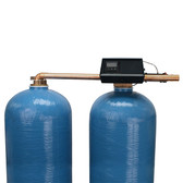 Twin Alternating Water Softener with Fleck 9500XT-Metered Control Valve 120,000 Grains (TO REDUCE FREIGHT COST CALL 1 888 556 8715)