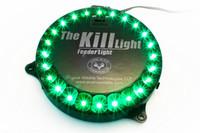 Kill Light Green LED Feeder Light (with photocell)