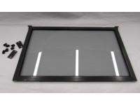 Gray tinted flip up 16 inch window