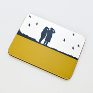 Birdwatching Melamine Coaster