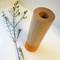 Orange Wood Vase with Glass tube