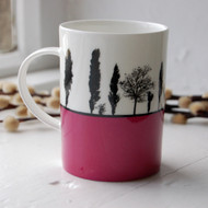 Landscape bone china mug - Second