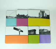 North East England Table Mat Set - Seconds