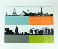 London Placemats Set Two - Seconds