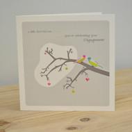 Little Bird Engagement Card