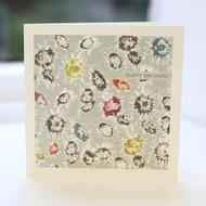 Mixed Daisy Birthday Card