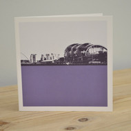 Jacky Al-Samarraie The Sage - Gateshead Purple Greeting Card