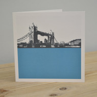 Tower Bridge Greeting Card LAS-LON-12-GC