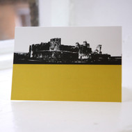Jacky Al-Samarraie Caerphilly Castle Greeting Card