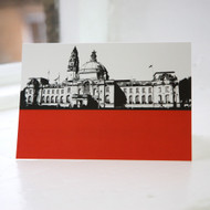 Cardiff City Hall Greeting Card