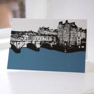 Pulteney Bridge - Bath Greeting Card