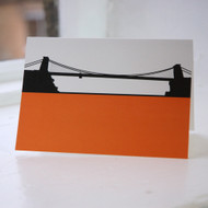 Jacky Al-Samarraie Clifton Suspension Bridge Greeting Card