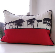 County Cork Landscape Cushion - Pink
