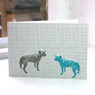 Jacky Al-Samarraie Tess the Dog Greeting Card