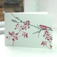 Garden Bird Greeting Card LP-FF-05-GC