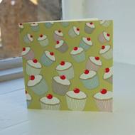 Jacky Al-Samarraie Lime Cupcakes Greeting Card