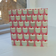Pink Cupcakes Greeting Card