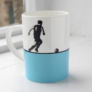 Football Bone China Mug