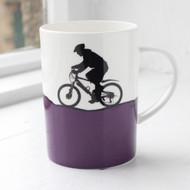 Mountain Biking Bone China Mug