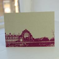 Jacky Al-Samarraie Holyrood Abbey Postcard