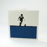 Rugby greeting card by Jacky Al-Samarraie